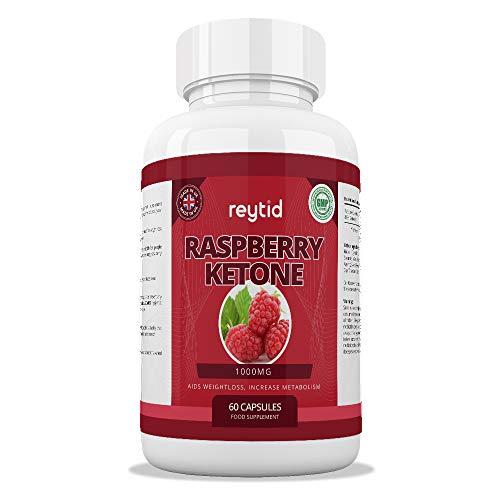 REYTID 100% Pure Raspberry Ketones Premium Plus | Natural Weight Loss Supplement, Appetite Suppressant & Fat Burner | UK Company & GMP Certified | 60 Capsules (Best Appetite Suppressant Uk)