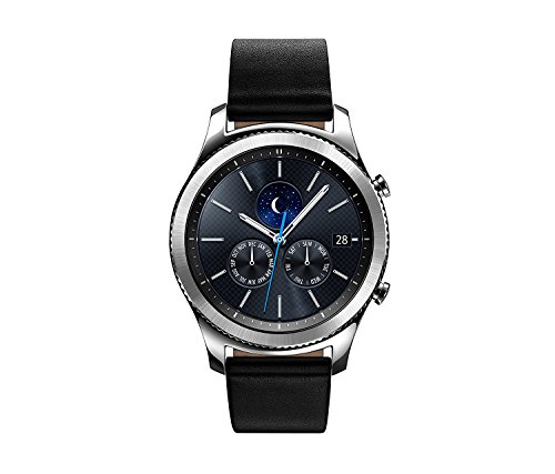 Click to buy Samsung Gear S3 Classic Smartwatch - Steel with Black Band (Certified Refurbished) - From only $289.99