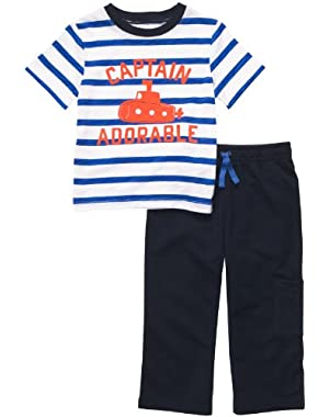 Carter's Baby Boys' Infant Knit Pant Set