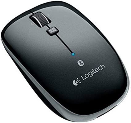 Optical Wireless Right and Left-Handed Dark Gray Bluetooth Logitech Mouse