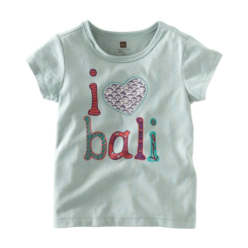 Tea Collection Little Girls' Bali Love Tee
