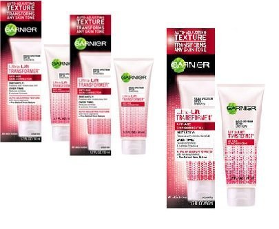 (Garnier Skin and Hair Care Ultra-Lift Transformer Anti-Age Skin Corrector for All Skin Tones, 1.76 Fluid Ounce (3-Pack))