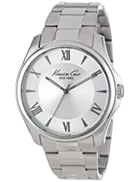 Kenneth Cole New York Men's KC9293 Classic Silver Dial 3-Hand Date Bracelet Watch