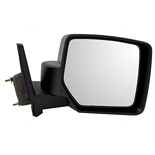 - Passengers Manual Side View Mirror Textured Replacement for Jeep Patriot 5155456AK