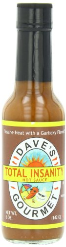 - Total Insanity Hot Sauce from Dave's Gourmet Total Insanity Hot Sauce - 5oz
