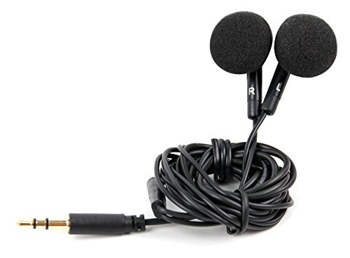 Price comparison product image DURAGADGET Comfortable In Ear Design Headphones In Black For The New Apple iPhone 5, iPhone 5S & iPhone 5C