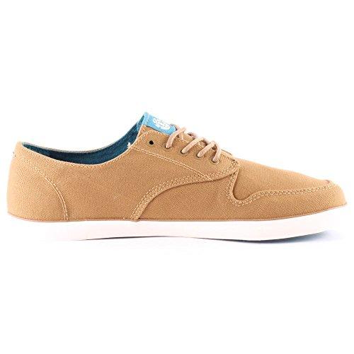 Element TOPAZ - zapatilla deportiva de lona hombre marrón - Marrón / marrón claro