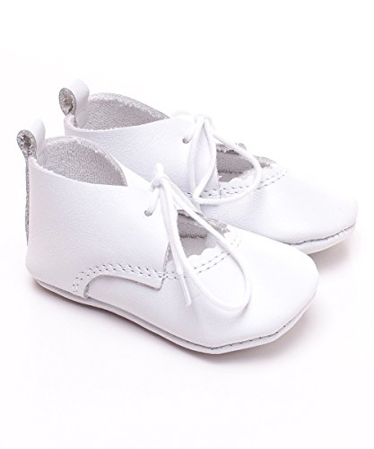 Toma - Zapatos primeros pasos de cuero para niño White - WHITE