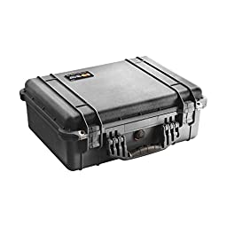 Pelican 1520 Case with Foam (Camera, Gun, Equipment, Multi-Purpose) - Black