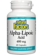 Natural Factors - Alpha-Lipoic Acid 400mg - 60 caps
