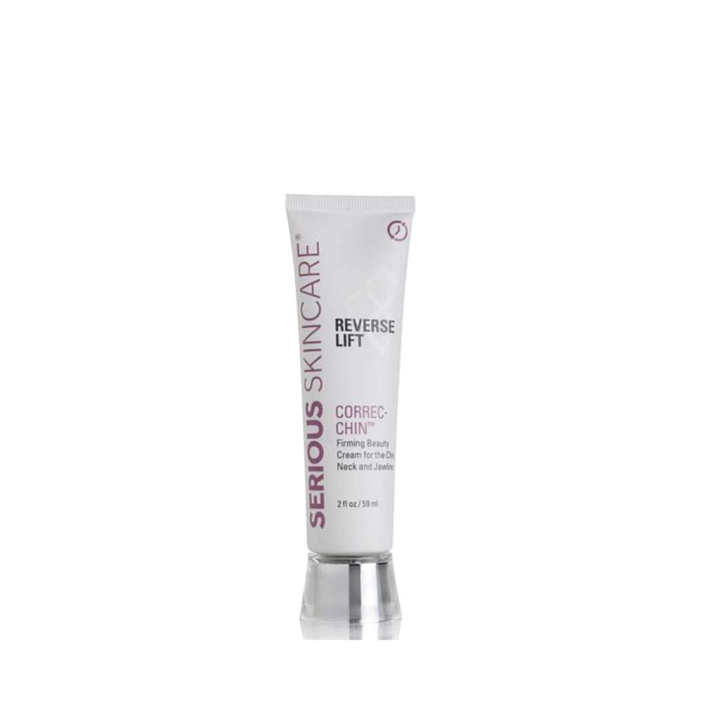 Serious Skincare Reverse Lift Correct-Chin Firming Beauty Cream, 2 Ounce