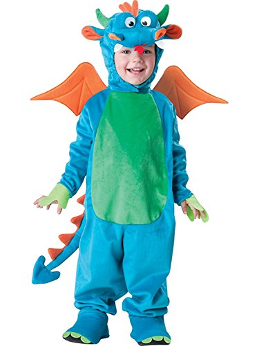 [InCharacter Costumes, LLC Dinky Dragon, Blue/Green/Orange, Small] (Dinky Dragon Baby Costumes)