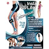 INSTA LIFE BACK AND SCIATIC PAIN ACUPRESSURE COMPRESSION RELIEF CALF WRAP. CLASS 1 MEDICAL DEVICE