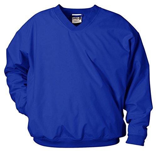 Badger Windshirt (Badger Adult Microfiber Windshirt, Royal, X-Large)
