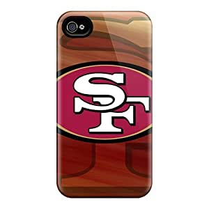 Hot Design Premium GYR21036WnDZ Iphone 4/4S Protection Cases(san Francisco 49ers)