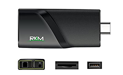 RKM Quad Core 4k Android Mini Pc with 2g Ram/16g Rom 2.4g/5g Wifi Gbit Ethernet Bluetooth4.0 1.8ghz Hdmi Player- Smart Streaming Media Player v5