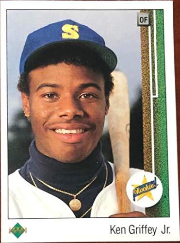 Ken Griffey Jr. 1989 Upper Deck #1 Rookie Card (1989 Upper Deck Ken Griffey Jr Rookie Card)