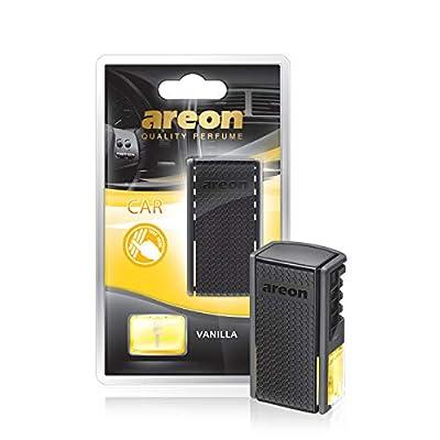 AREON ACB06 Car Perfume Luxury and Elegant 0.27 oz Car Freshener Vent Clip, Vanilla Scent: Automotive