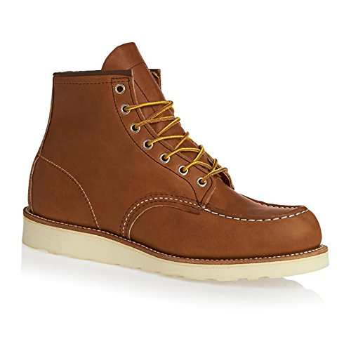 Red Wing Heritage 6 Work Moc Toe Boots 12 D(M) US Oro Legacy