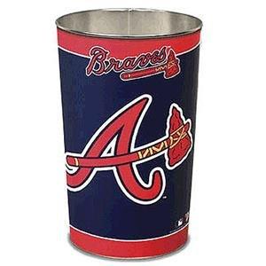 - Wincraft Atlanta Braves MLB Tapered Wastebasket (15