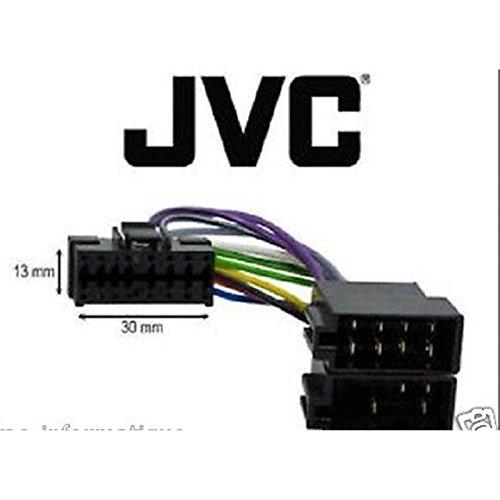 jvc kdg 322 kdg 331 car radio stereo iso wiring loom car hifi wire rh 108 61 128 68