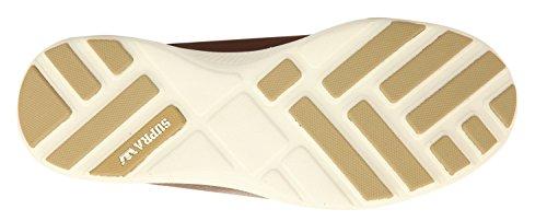 SupraOwen - Zapatillas de Deporte Hombre - Chocolate - off white