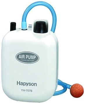 ハピソン(Hapyson)乾電池式エアーポンプYH-707Bの画像