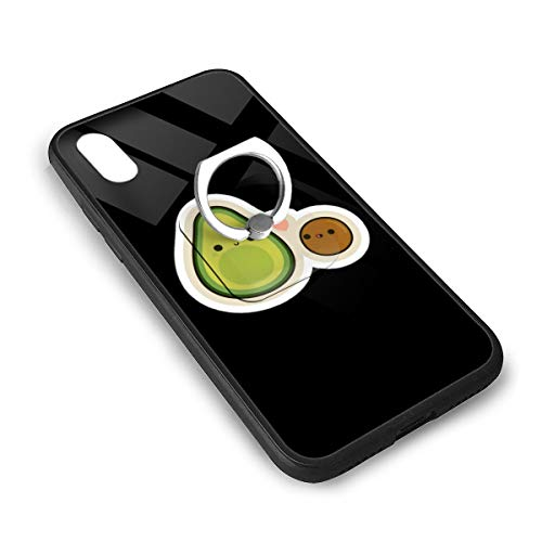 LGOPT Avocado-clipart-cute-tumblr-477743-5667422 Fashion Personalized iPhone X/XS TPU Glass