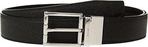 Bally Men's Astor Reversible Belt, Black/Black, One Size Bally Leather Belt