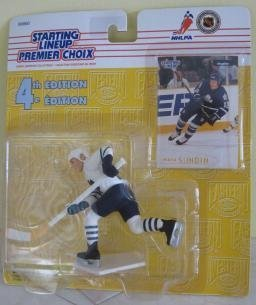 Mats Sundin Toronto Maple Leafs Kenner 1996 Starting Lineup 4TH Edition Action Figure by Starting Line Up