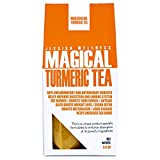 Jessica Wellness Magical Curcumin Turmirc Tea Organic - Organic Turmeric Curcumin with Bioperine | 50 Servings | 9000 Times More Powerful Than Turmeric from India
