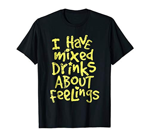 Liquor Black Haus (Funny Beer Lover Drinking Drunk T-shirt I Have Mixed Drinks)
