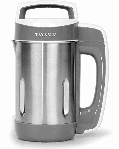 Stainless Steel Soy Milk Maker - Tayama Stainless Steel Soymilk Maker 1.1L