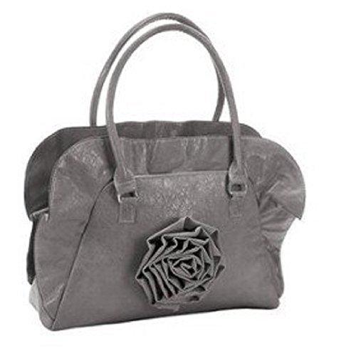 collezione alessandro Tasche - Bolso de asas de material sintético para mujer gris - gris
