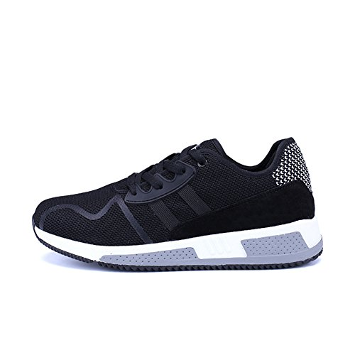 2016 Winter comfortable running shoes sneakers shoes men(Black) - 4