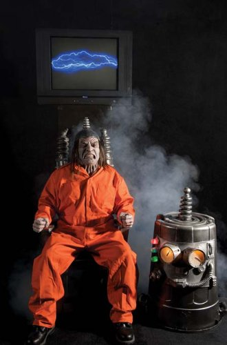 Electric Chair Prop (Electric Chair Kit Halloween Prop Animated)