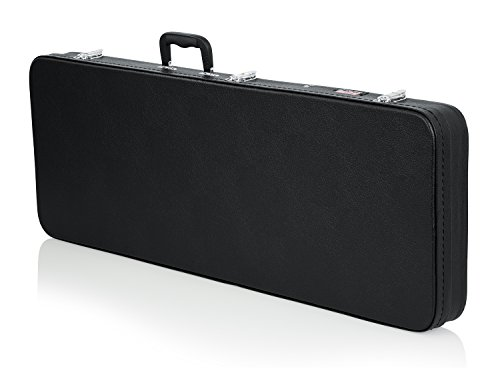 Gator Cases Hard-Shell Wood Case for Wide Body Electric Guitars; Fits PRS Style Guitars and More (GWE-ELEC-WIDE)