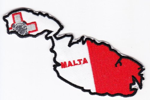 multi-color-country-national-flag-map-iron-on-patch-heat-seal-emblem-applique-malta-9-x-10-cm