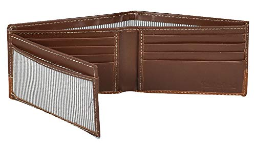 Timberland Men's Hunter Leather Passcase Wallet Trifold Wallet Hybrid - http://coolthings.us