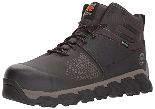 Mens Waterproof Hiker Boot - Timberland PRO Men's Ridgework Mid Industrial Boot, Brown, 9 M US