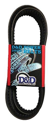 1 -Band D/&D PowerDrive V3442 James Hunter Machine Replacement Belt Rubber 56.27 Length 17