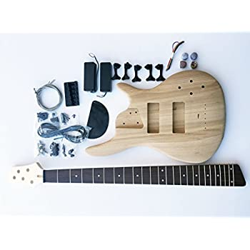 diy electric bass guitar kit p bass build your own musical instruments. Black Bedroom Furniture Sets. Home Design Ideas