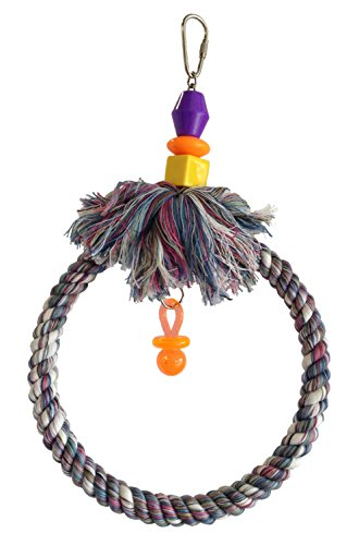 FeatherSmart Parrot Bird Rope Swing Small by FeatherSmart Parrot Bird Rope Swing