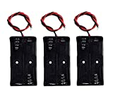 LAMPVPATH (Pack of 3) 2 AA Battery Holder, 2 AA