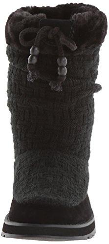 Skechers Keepsakes Blur 46653 CHOC - Botas de tela para mujer Black/black