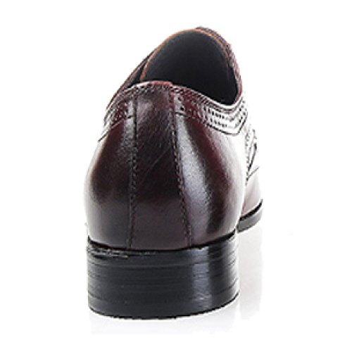 Americana Tacco Spesso Stringate Lavoro da Atmosfera Punta Versione Moda Europea Black Comfort Scarpe Scarpe E IpBvq4