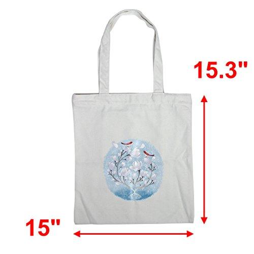 sourcingmap Frauen Blumendruck Schultertasche Lässige Schultasche Buch Pack Beutel Einkaufstasche