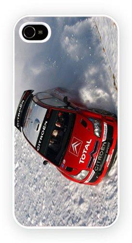 Citroen C4 WRC Snow, iPhone 5 5S, Etui de téléphone mobile - encre brillant impression