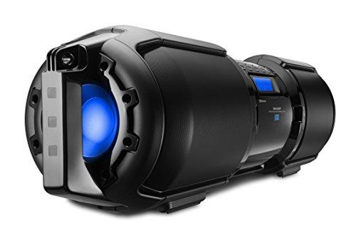 Sharp GX-BT9X Large Portable Bluetooth BoomBox Speaker by Sharp (Image #1)