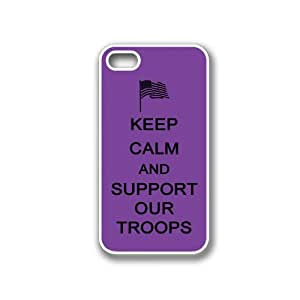 Keep Calm And Support Our Troops Purple Blackberry Z10 Case - For Blackberry Z10